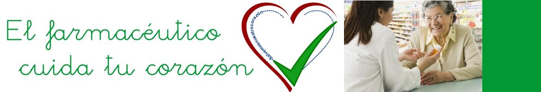 El farmacéutico cuida tú corazón